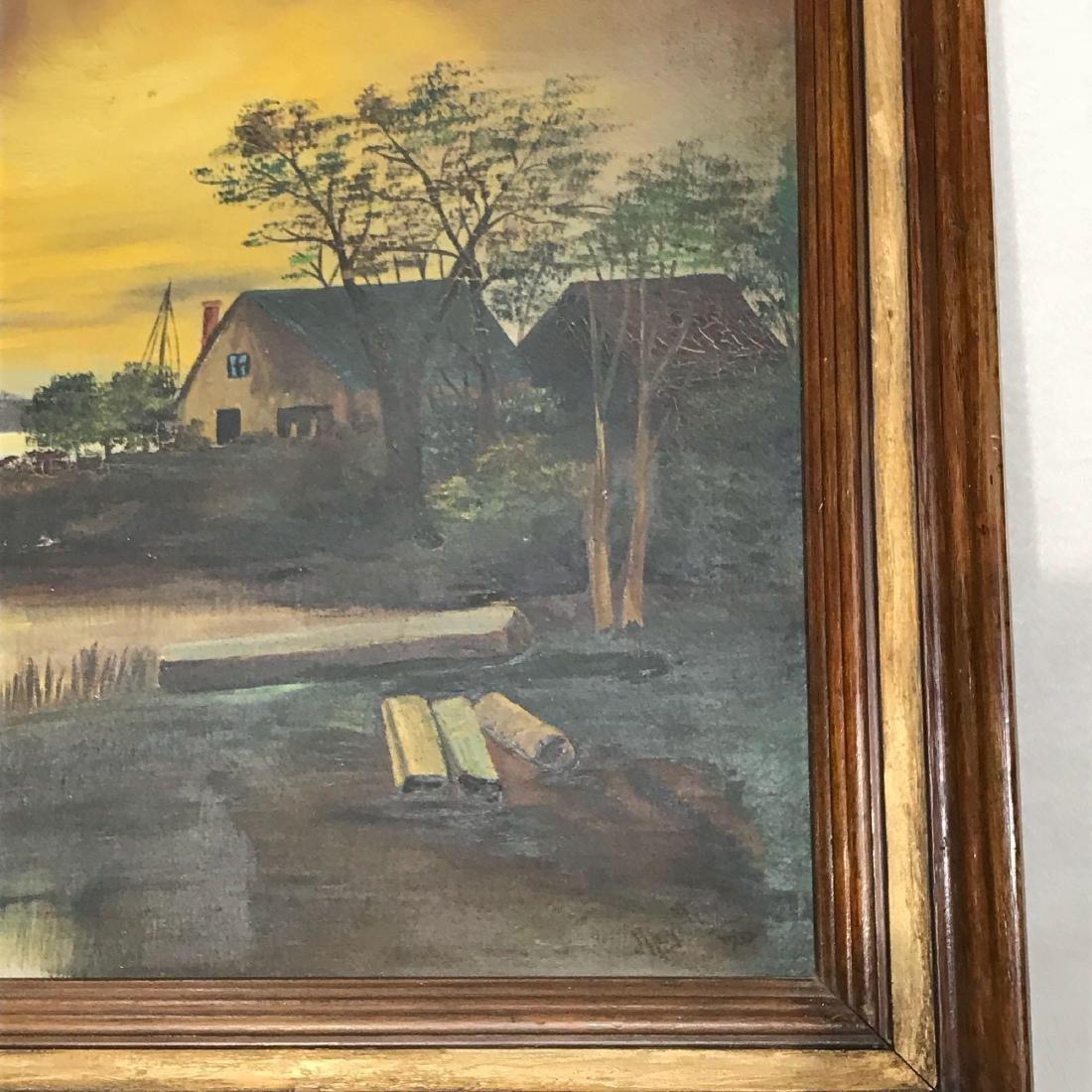 Original Signed Art Painting - 8