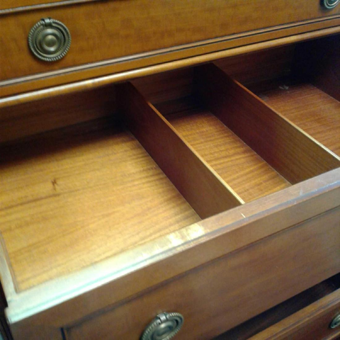 Antique John Widdicomb Company Highboy Chest of Drawers - 9