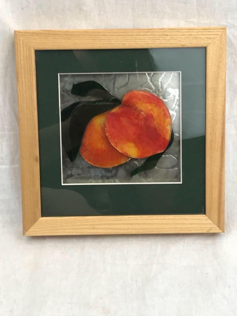 Original Glass Art, Peaches by Karen M van Beest - 2