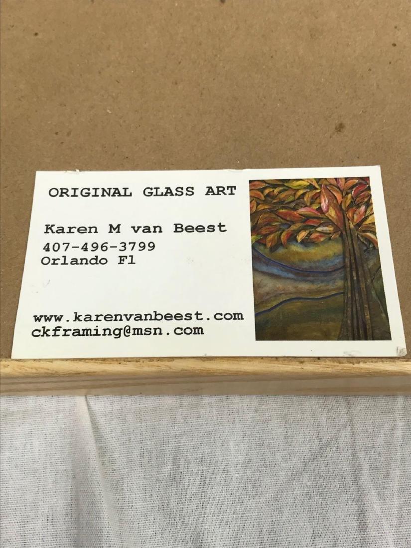 Original Glass Art, Peaches by Karen M van Beest - 7