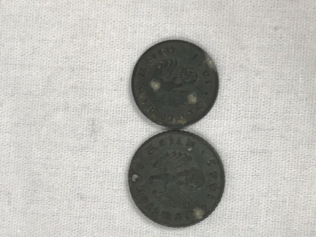 Two German Coins, One Pre WWI, One WWII Period - 2