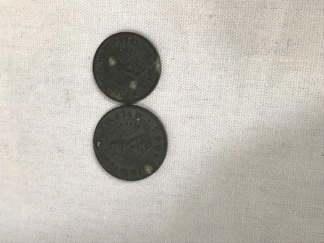Two German Coins, One Pre WWI, One WWII Period - 4