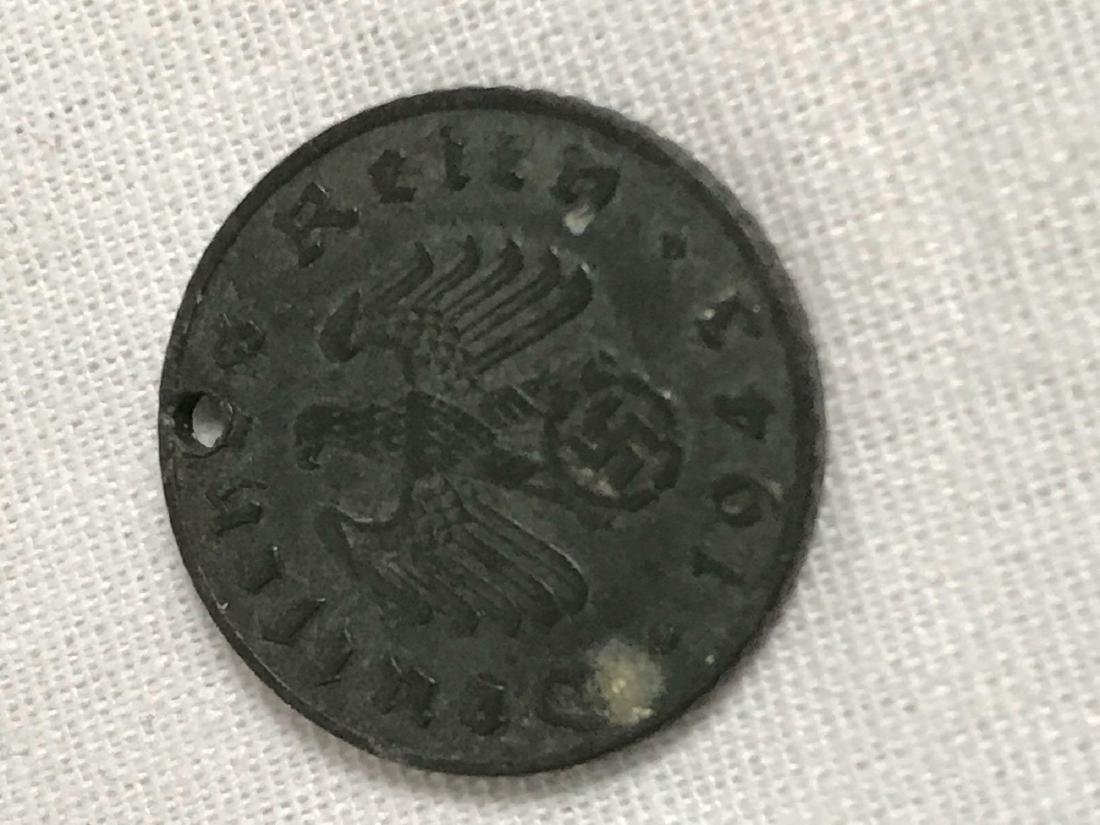 Two German Coins, One Pre WWI, One WWII Period - 5