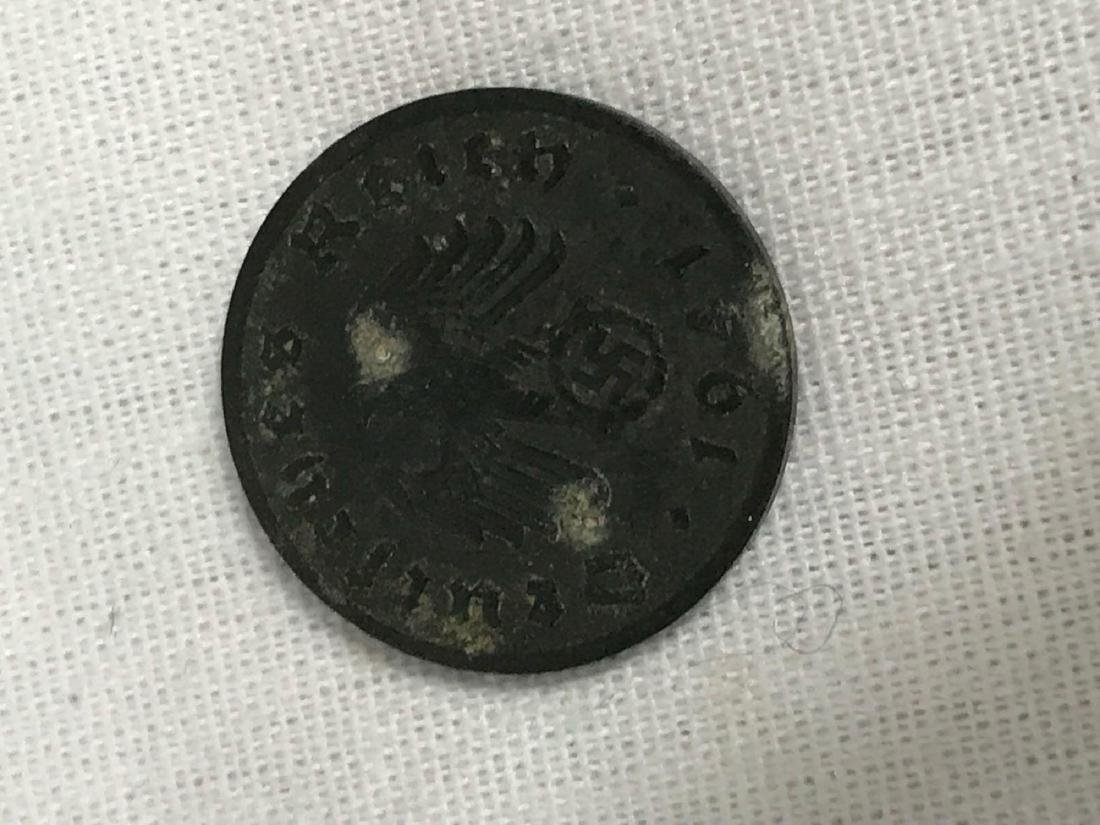 Two German Coins, One Pre WWI, One WWII Period - 9