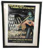 Vintage Movie Poster The Day the Earth Stood Still