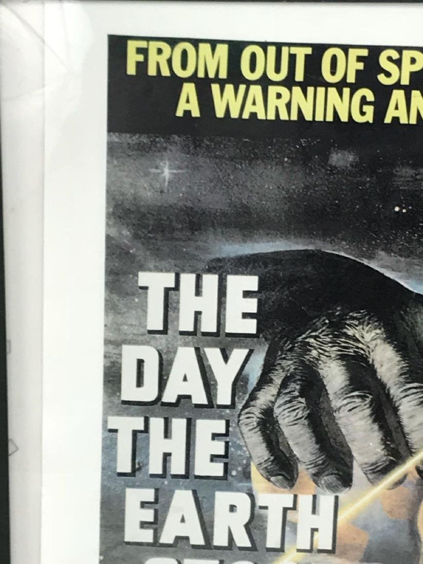Vintage Movie Poster, The Day the Earth Stood Still, - 3