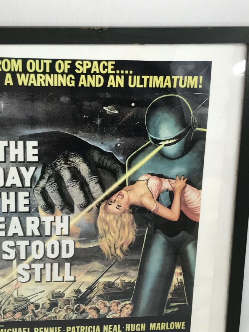 Vintage Movie Poster, The Day the Earth Stood Still, - 4