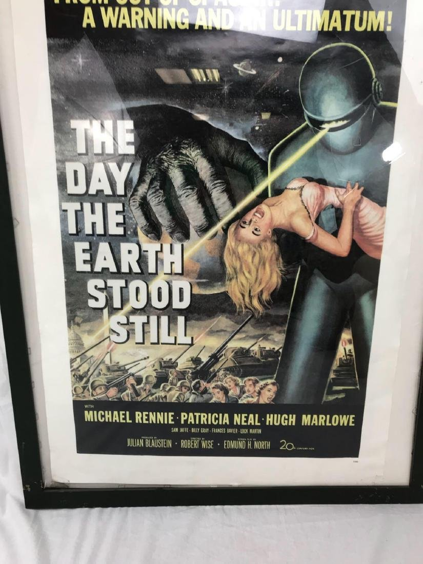 Vintage Movie Poster, The Day the Earth Stood Still, - 9