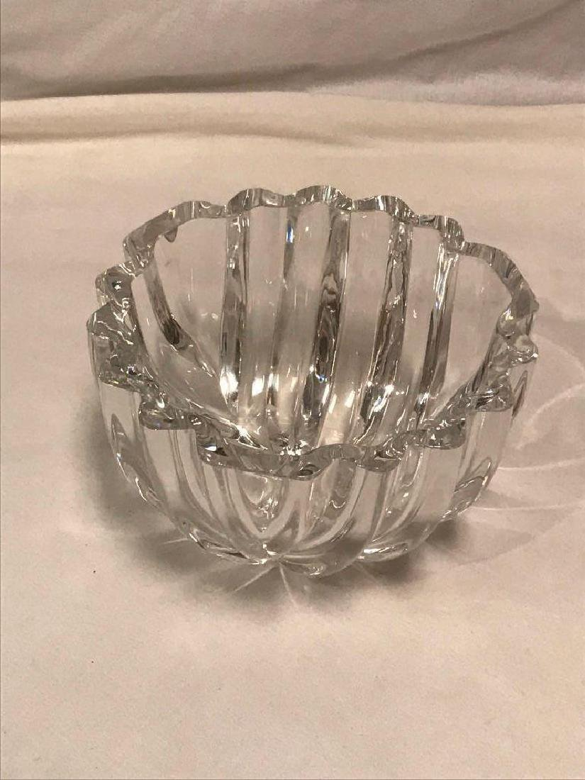Orrefors Sweden Crystal Cut Glass Bowl - 5