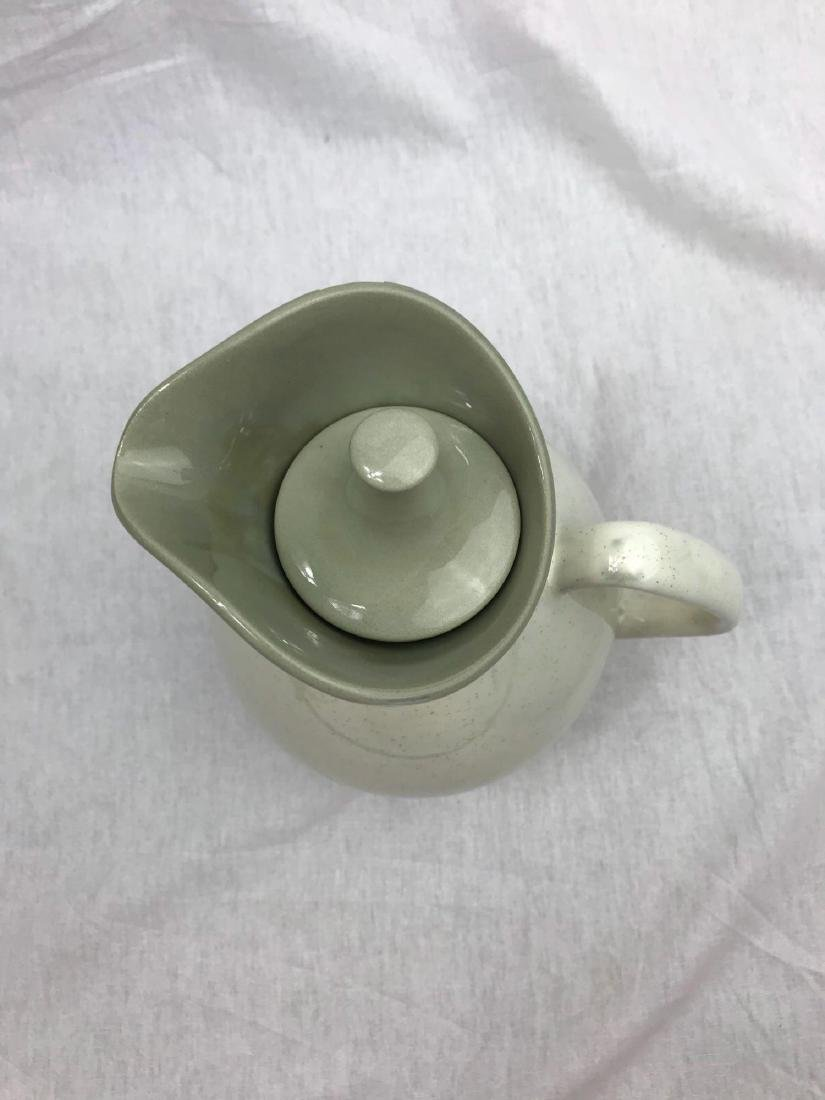 Sleek Mid-Century Modern Pitcher and Serving Tray - 10