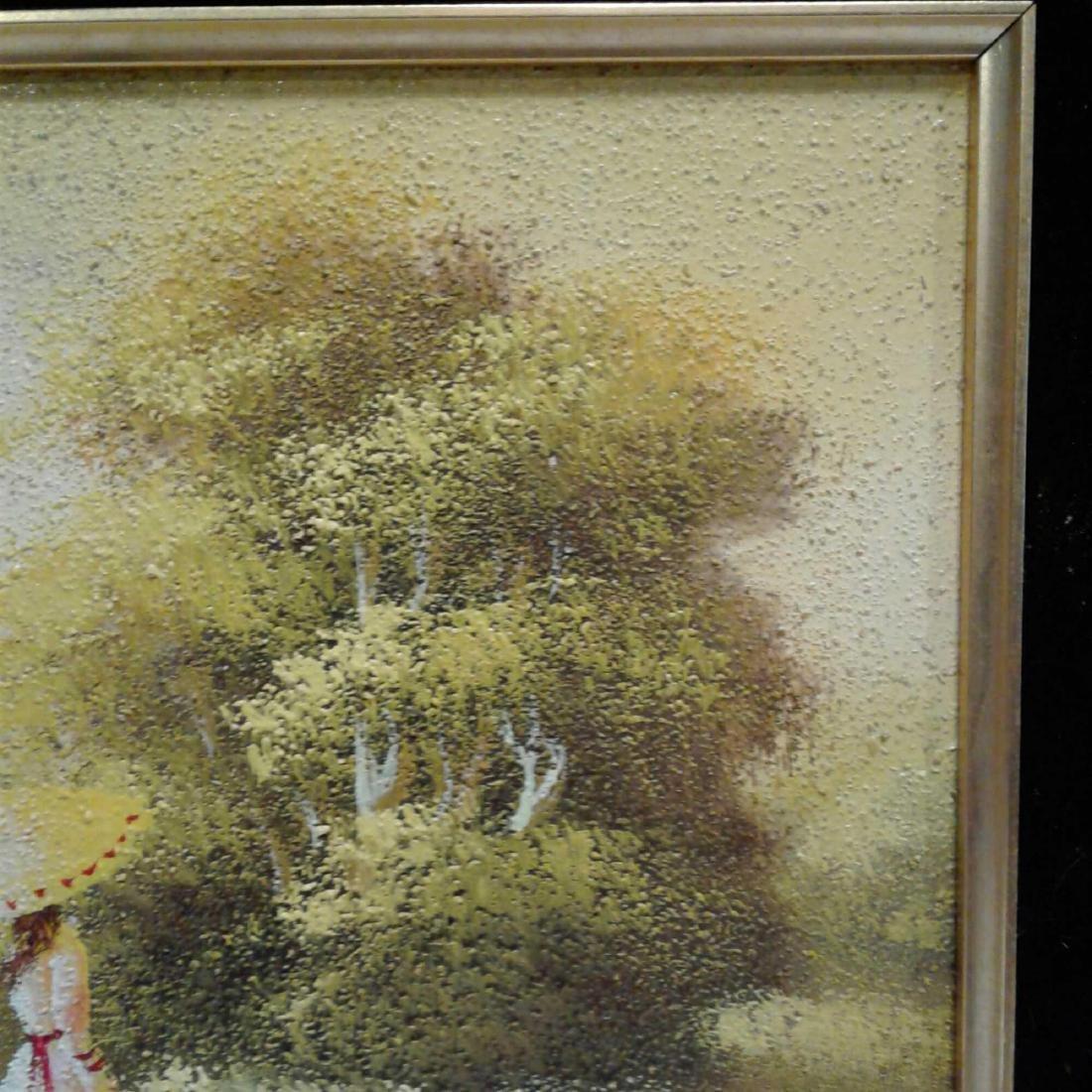 Sandy Grit Textured Impasto Oil Painting - 5