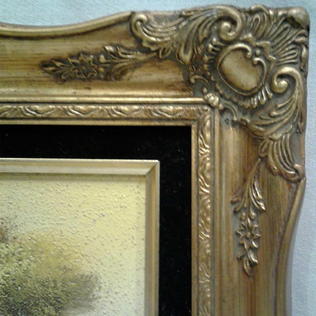 Sandy Grit Textured Impasto Oil Painting - 9