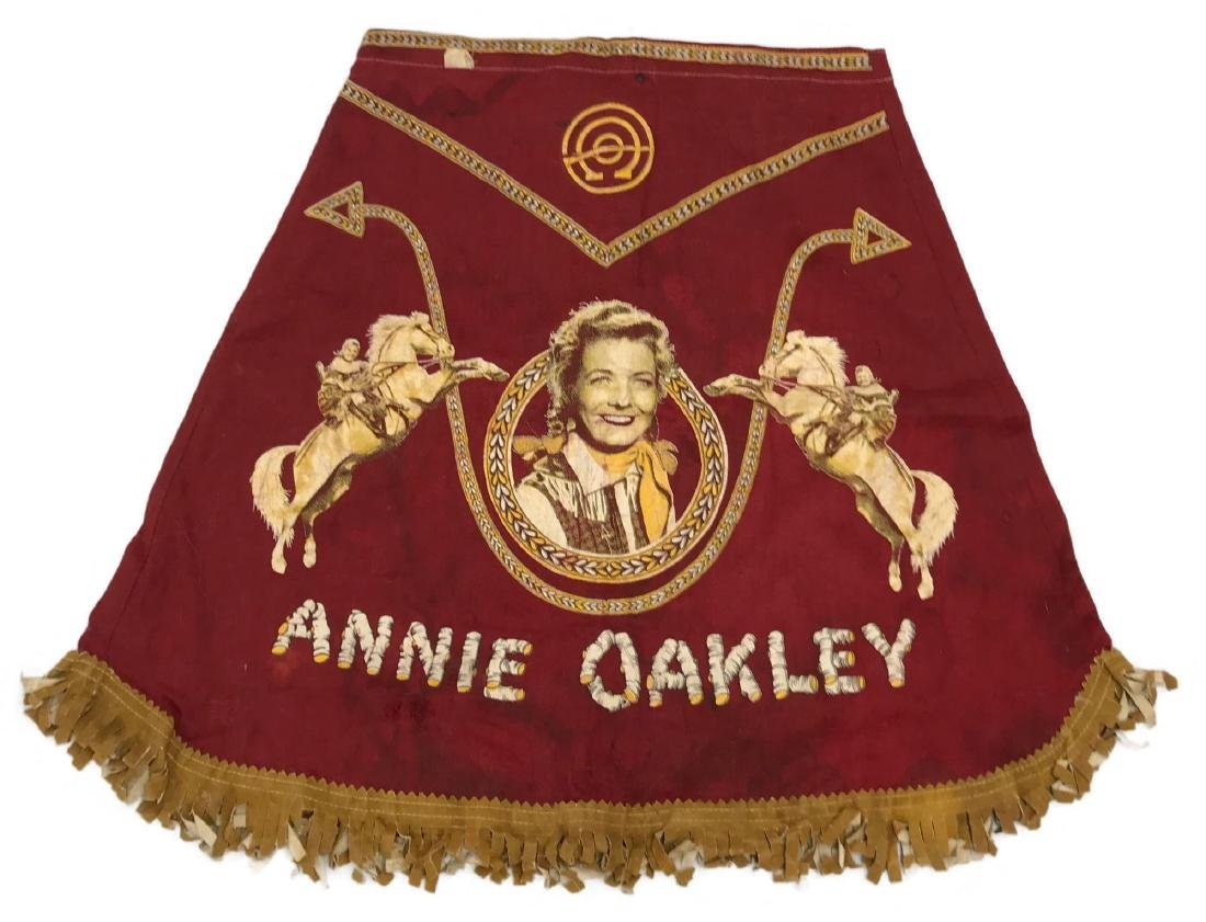 1950's Annie Oakley Costume Skirt