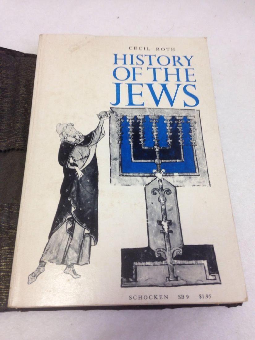 Book, A History of the Jews, by Cecil Roth, 1961