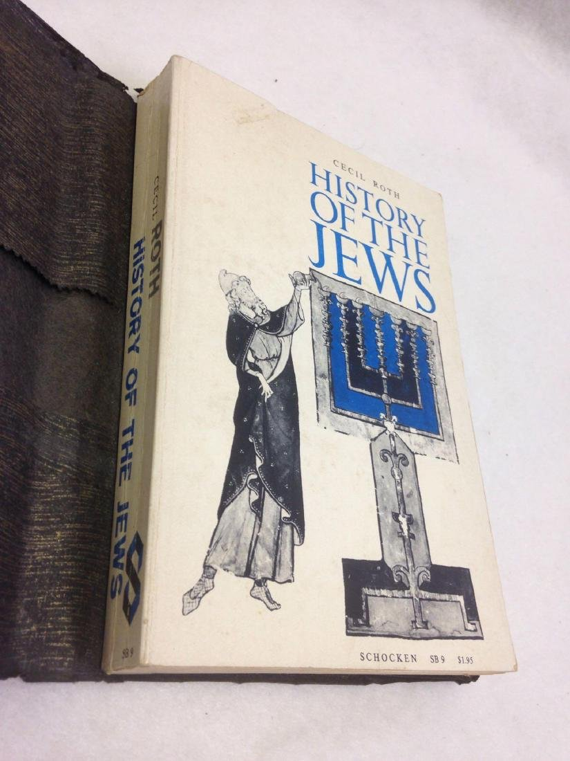 Book, A History of the Jews, by Cecil Roth, 1961 - 2