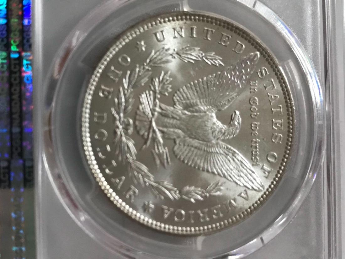 1885 Morgan Silver Dollar MS-63 - 5