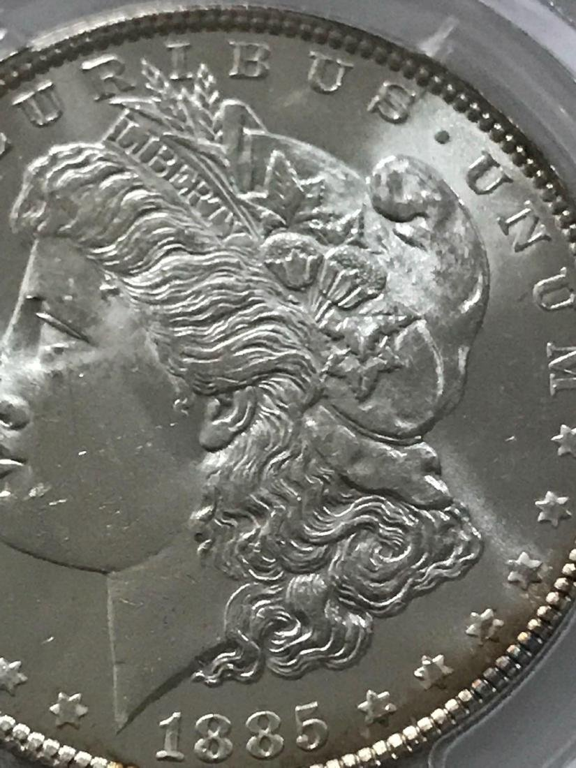1885 Morgan Silver Dollar MS-63 - 9