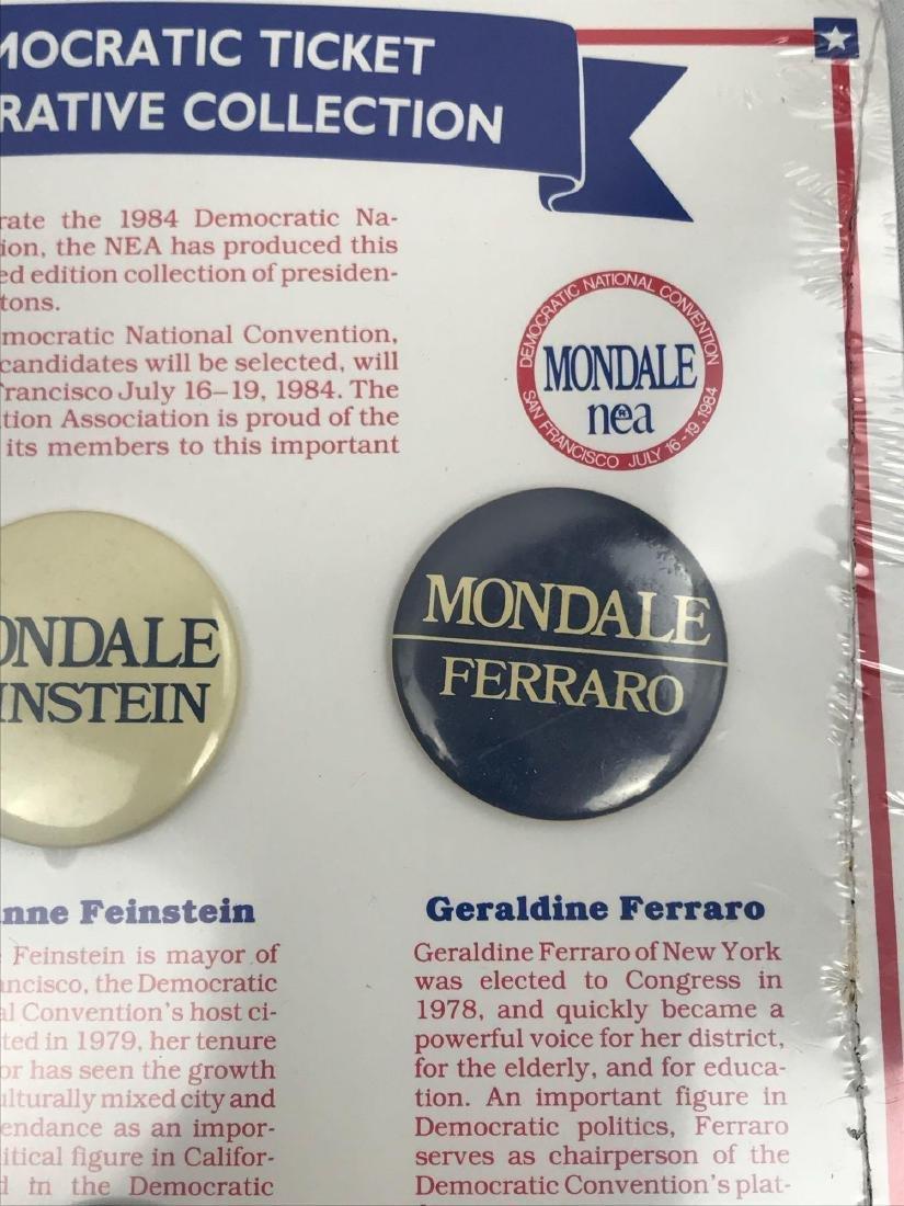 Rare 1984 Democratic Ticket Commemorative Collection - 6