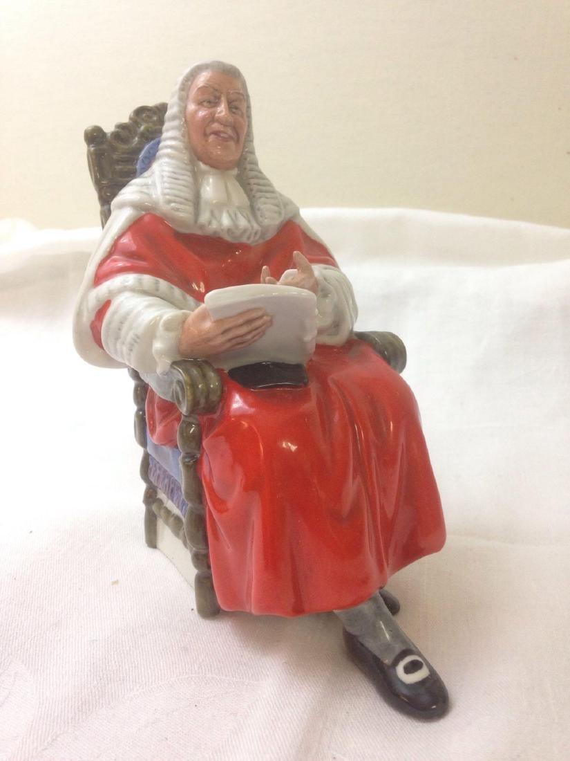 vintage Royal Doulton Figurine THE JUDGE HN2443