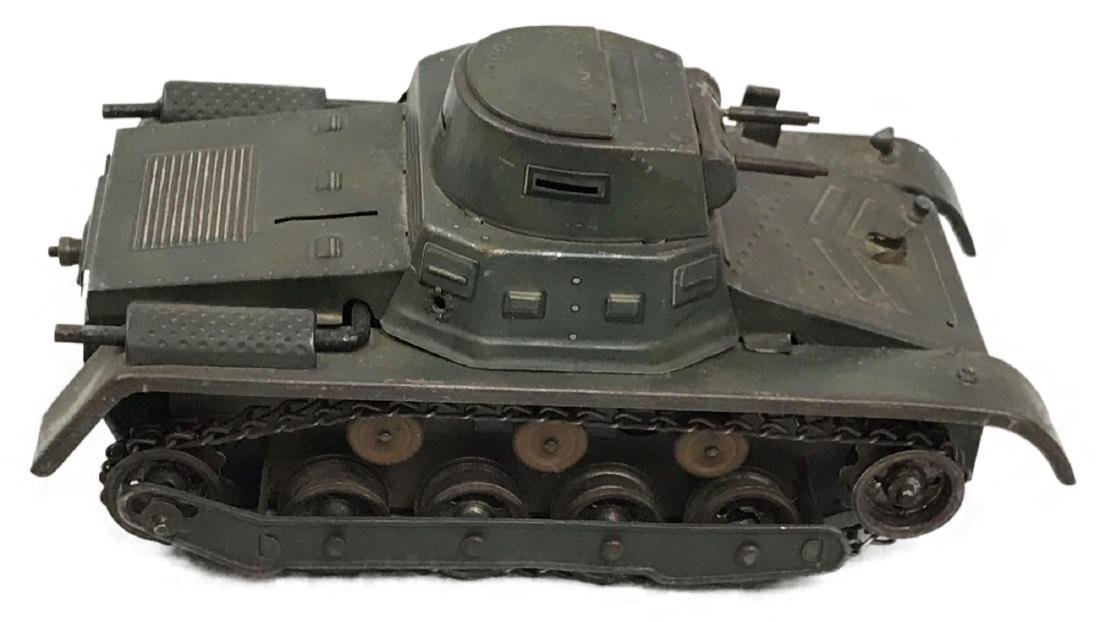 Vintage Pressed Steel Clockwork Tank