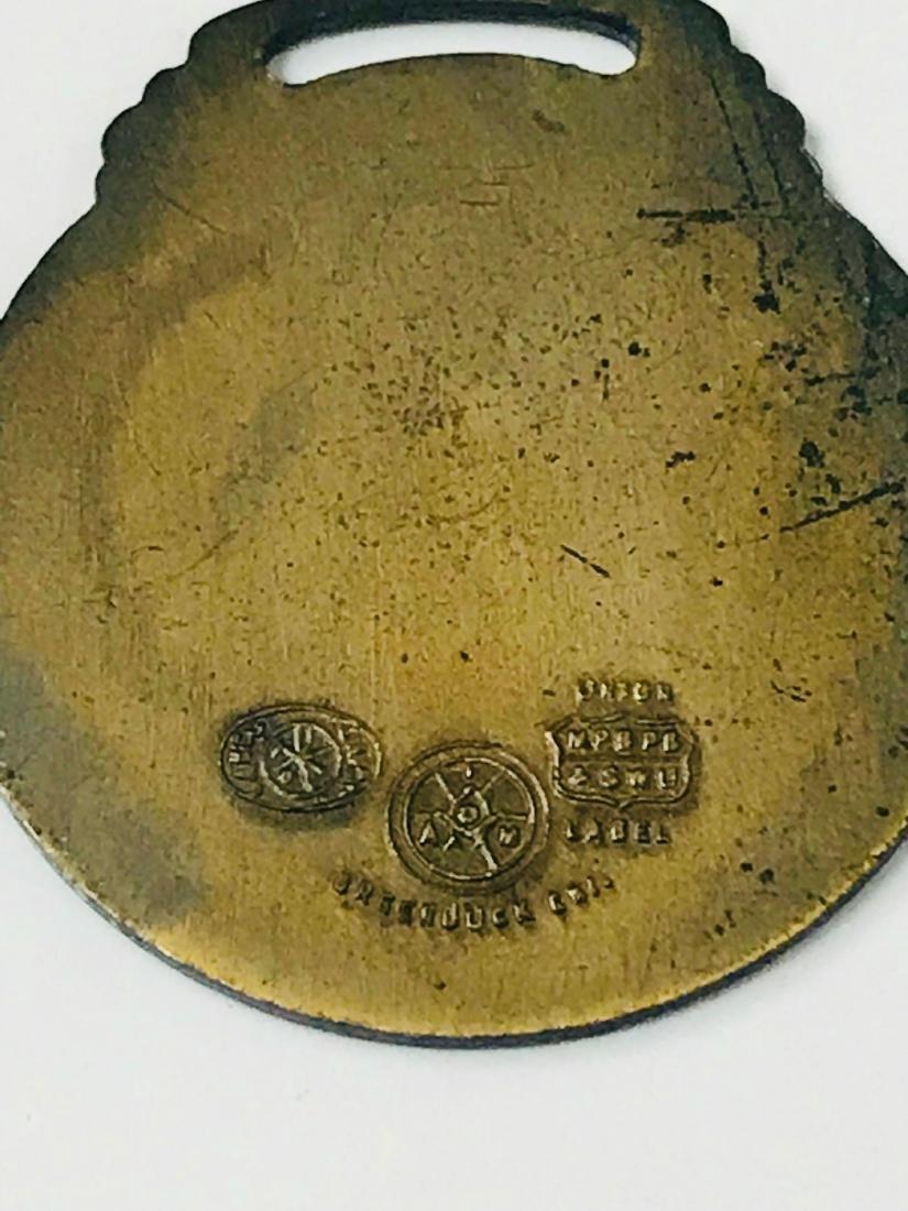 Vintage Bronze Medallion From Miami, 1934 - 10