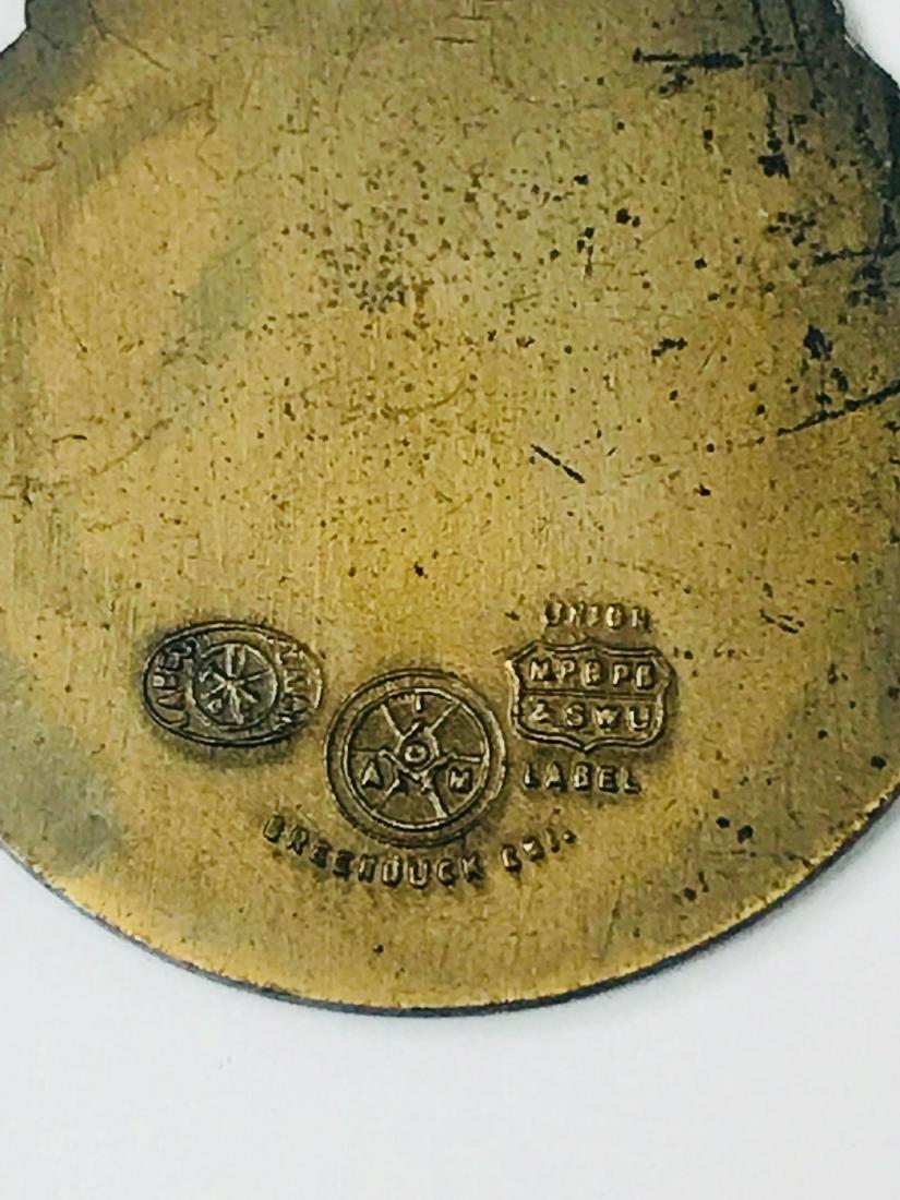 Vintage Bronze Medallion From Miami, 1934 - 7
