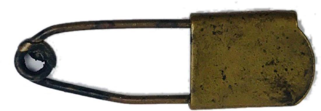 Vintage Brass Safety Pin