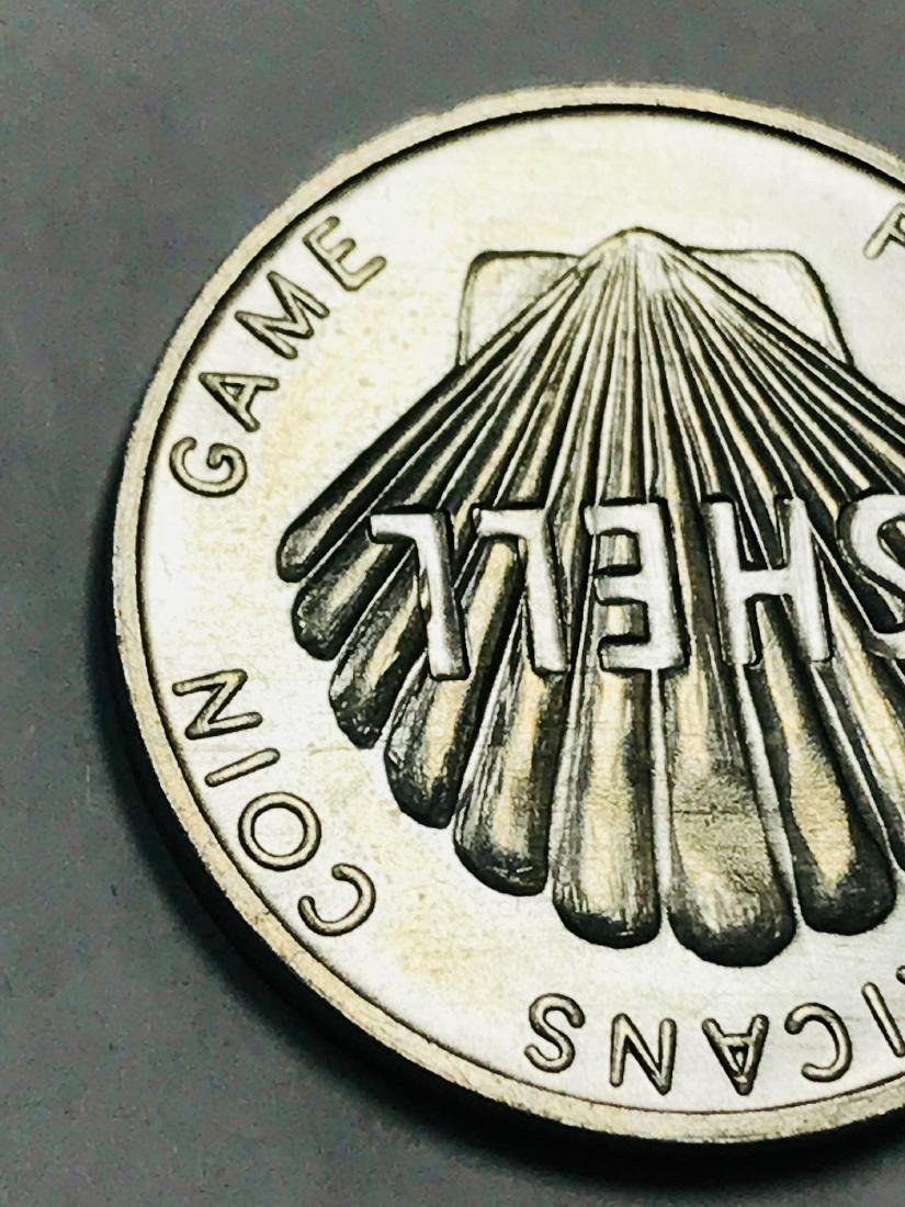 Shell Oil 1968 Famous Americans Coin Wright Brothers - 6