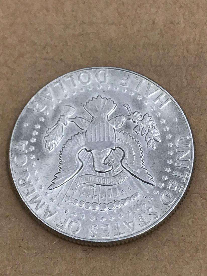 1969 D Kennedy Half Dollar 40% Silver - 3