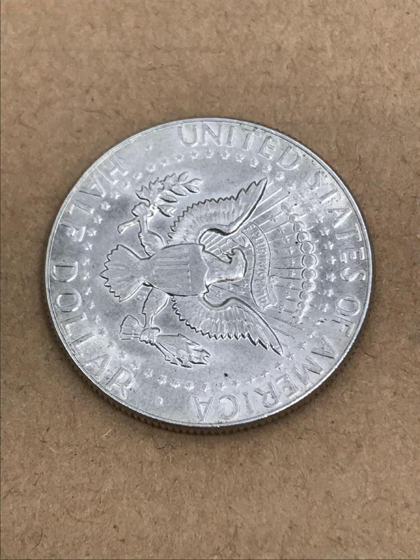 1969 D Kennedy Half Dollar 40% Silver - 6