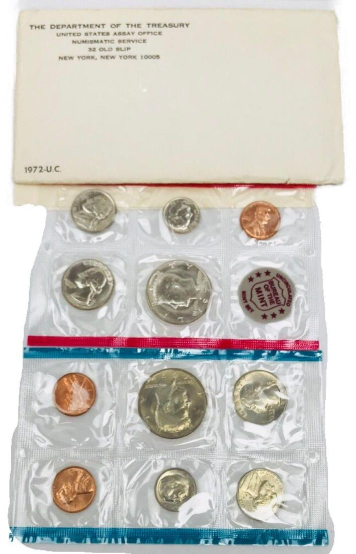 1972 Uncirculated U.S. Mint Proof Set