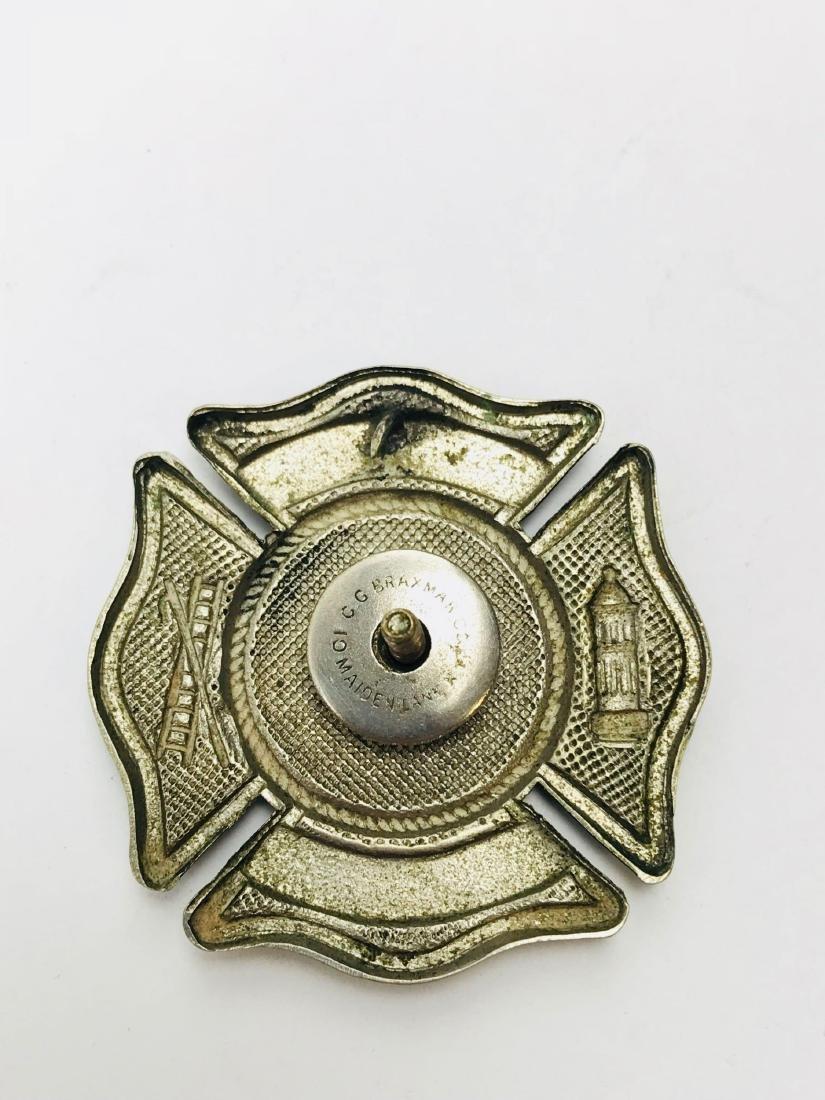 Vintage City of Miami Fire Department Hat/Helmet Badge - 4