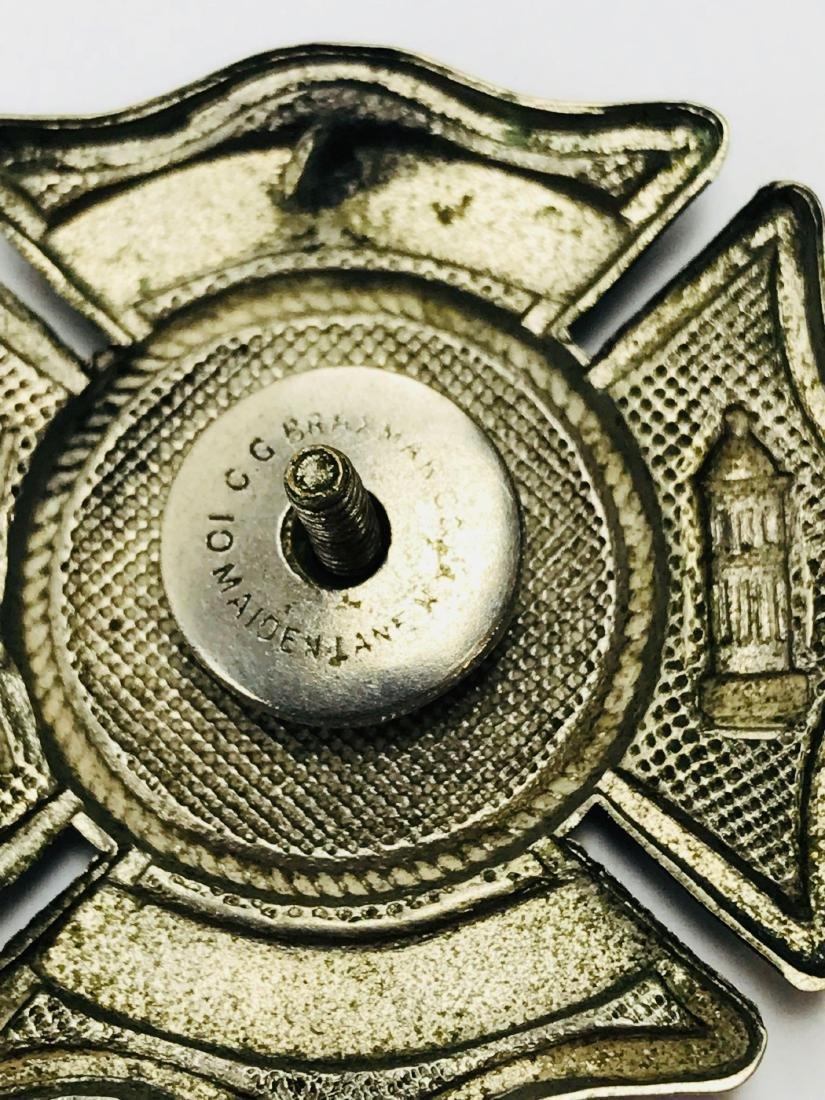 Vintage City of Miami Fire Department Hat/Helmet Badge - 5