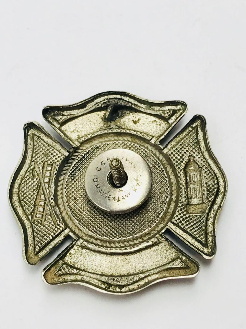 Vintage City of Miami Fire Department Hat/Helmet Badge - 7