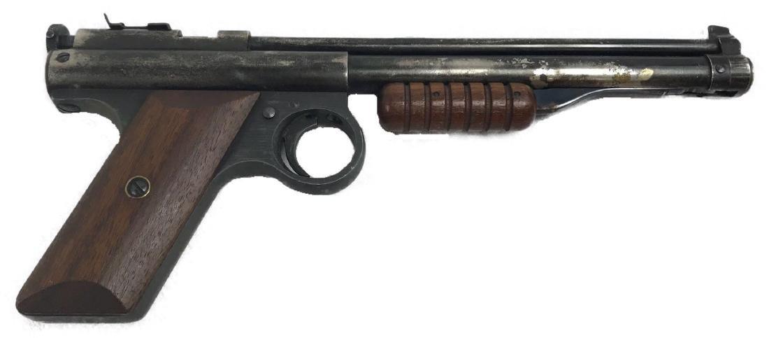 Benjamin Air BB Pellet Gun, Pistol 137 in Black Nickle