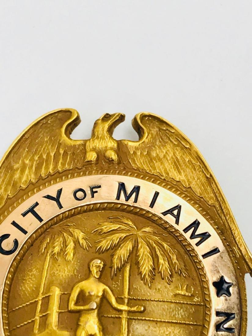 Rare Vintage Obsolete City of Miami Boxing Commission - 6