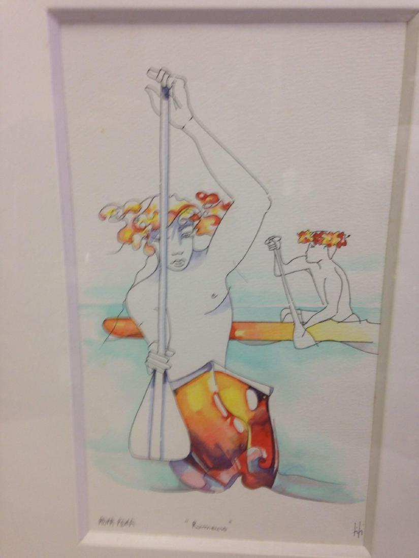 original Ti Ti art from Bora Bora lot 2 - 2
