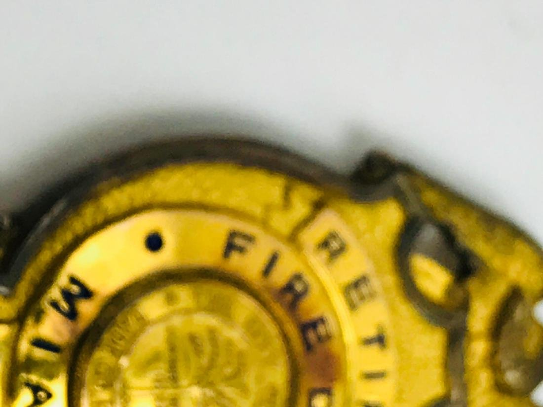 Obsolete City of Miami Fire Department Brass Badge, - 8