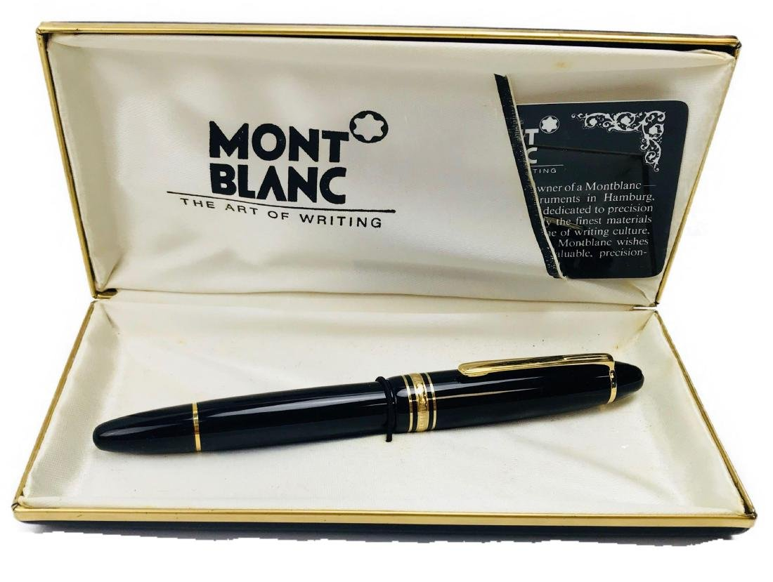 Vintage Mont Blanc No 146 Fountain Pen, Nib 4810 14 K