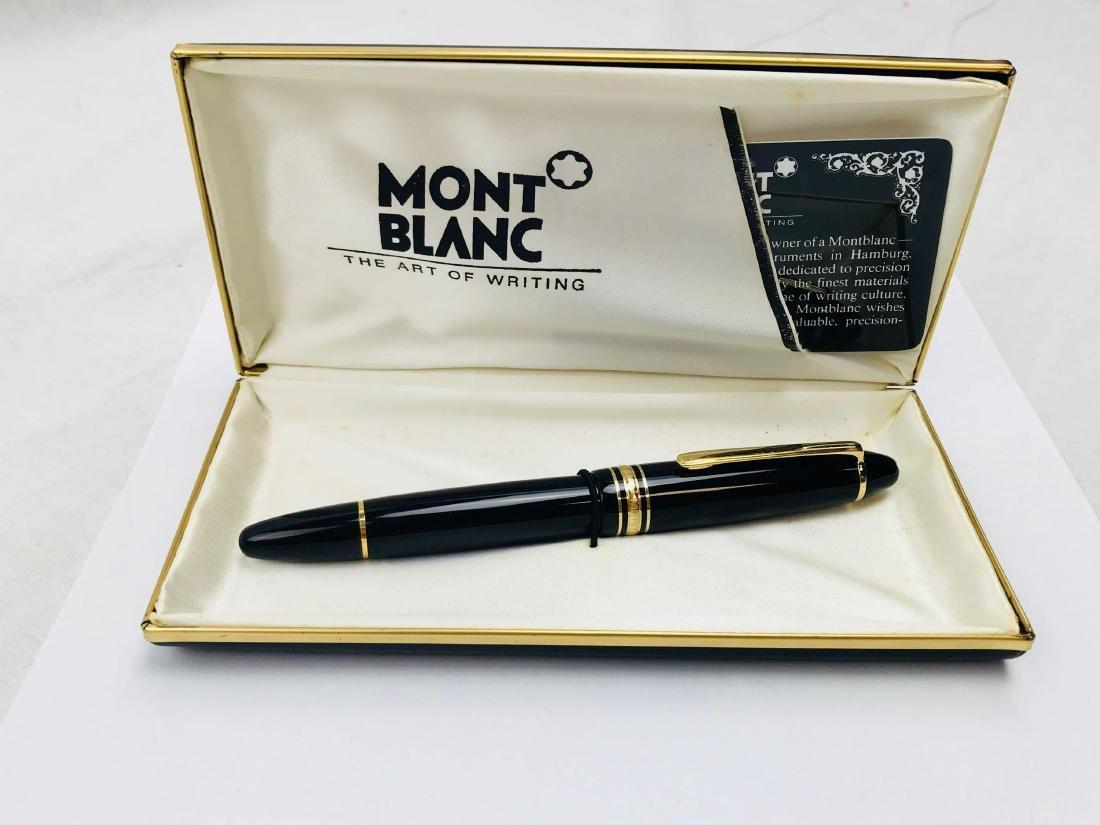 Vintage Mont Blanc No 146 Fountain Pen, Nib 4810 14 K - 2