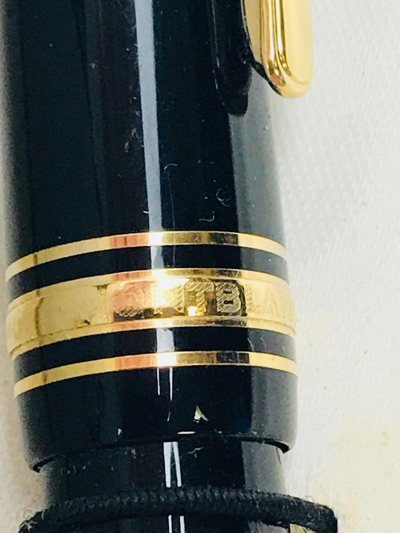 Vintage Mont Blanc No 146 Fountain Pen, Nib 4810 14 K - 4
