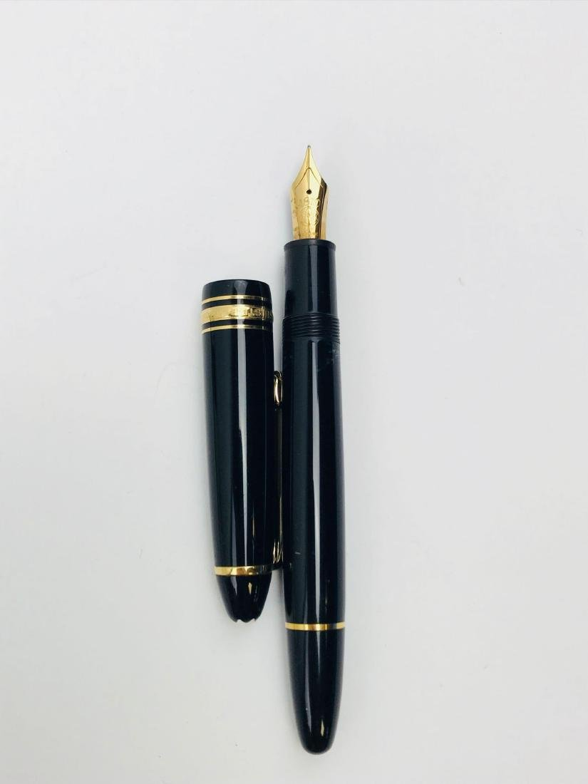 Vintage Mont Blanc No 146 Fountain Pen, Nib 4810 14 K - 5