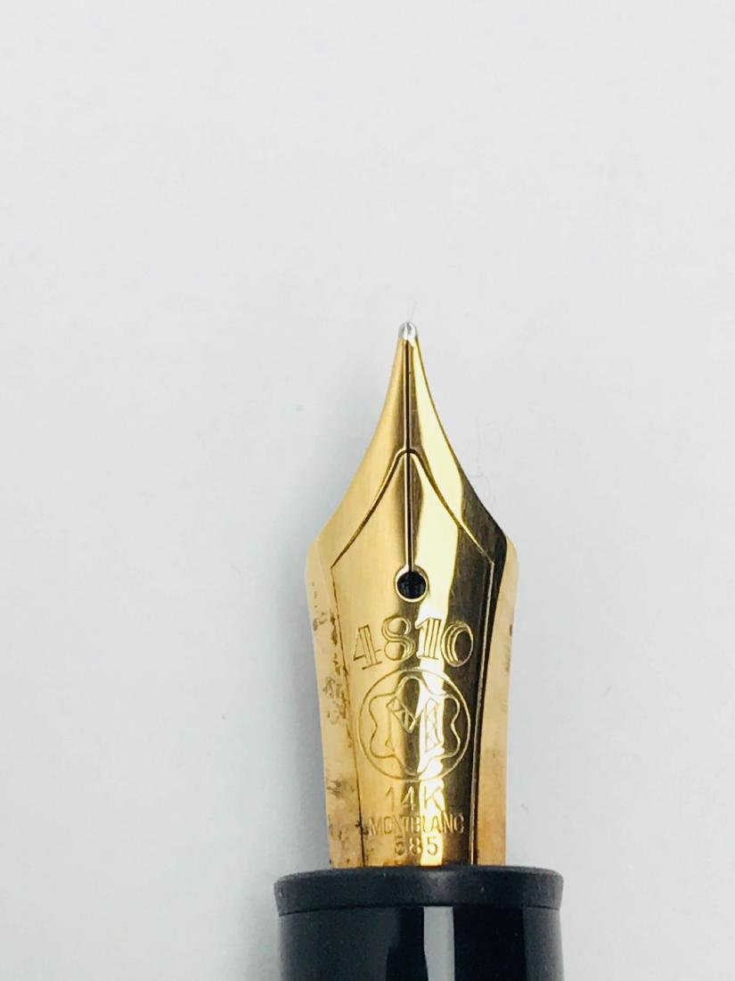 Vintage Mont Blanc No 146 Fountain Pen, Nib 4810 14 K - 6