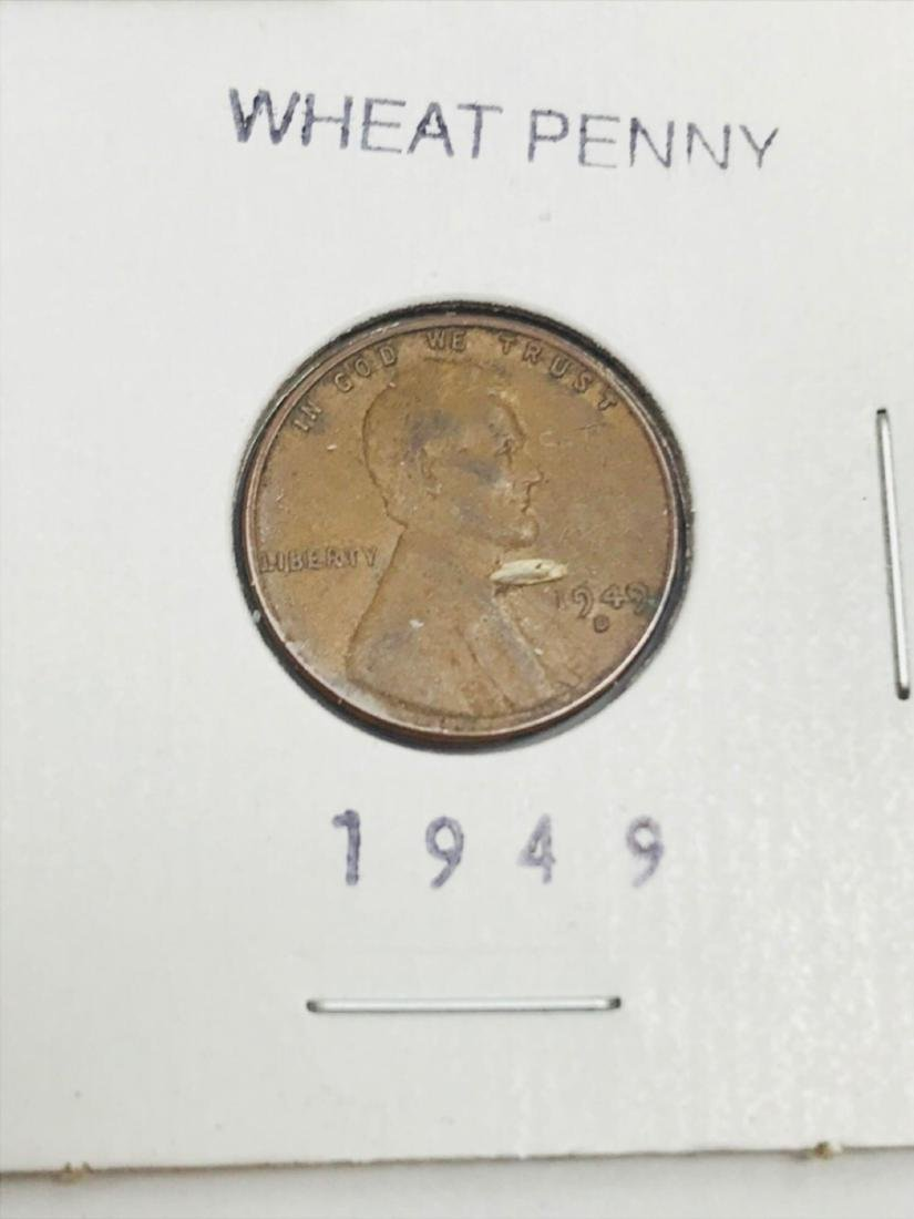 8 Collectible Lincoln Wheat Penny - 10