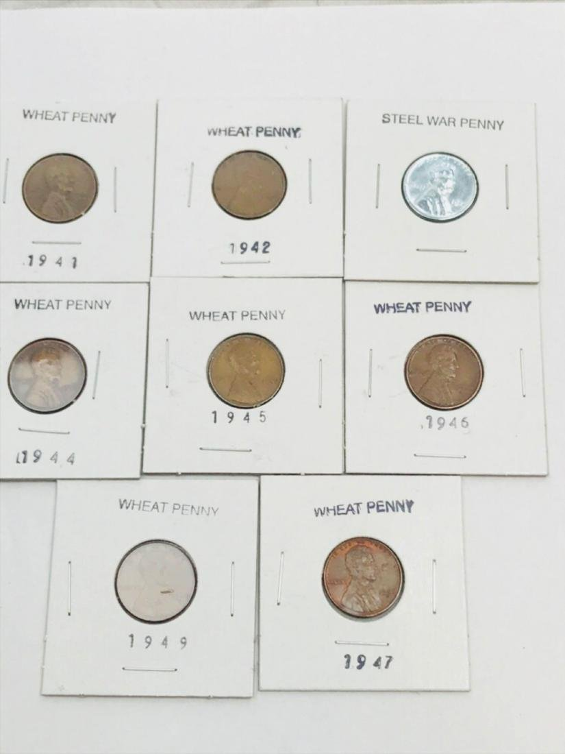 8 Collectible Lincoln Wheat Penny - 2