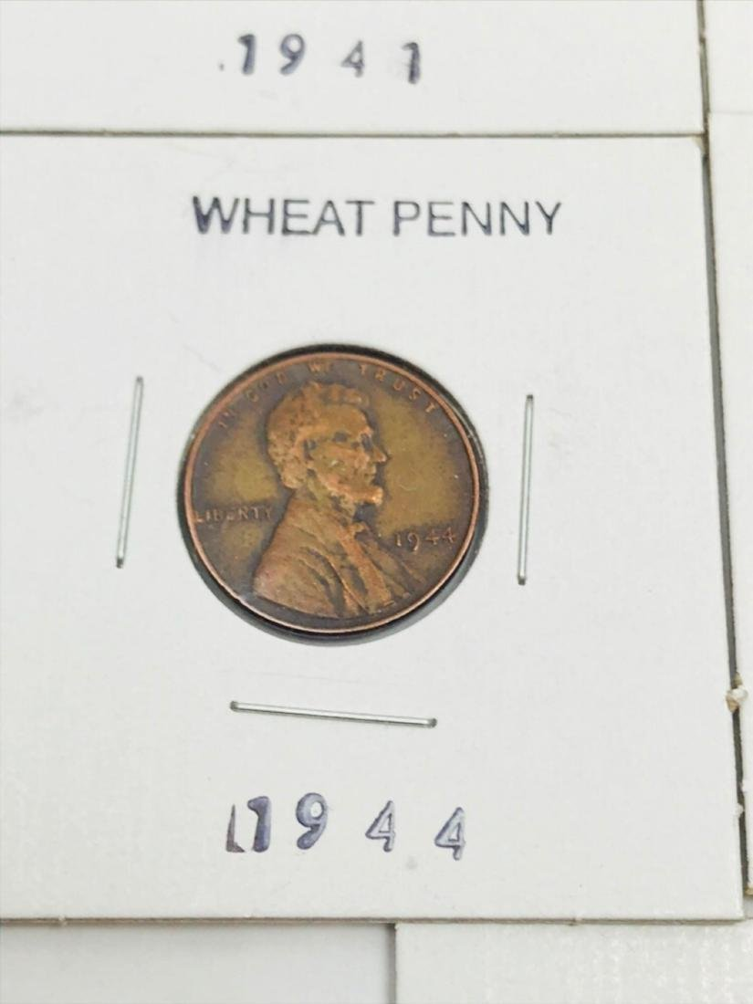 8 Collectible Lincoln Wheat Penny - 6