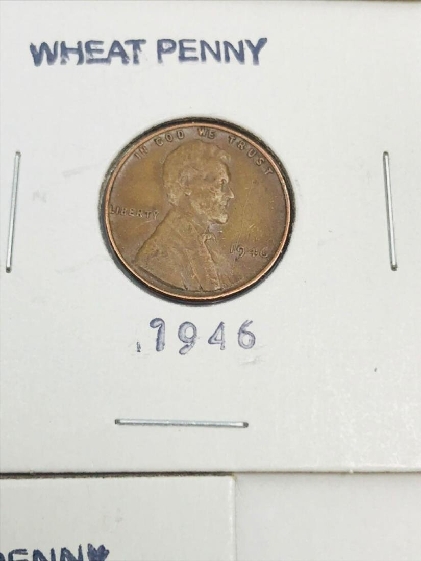 8 Collectible Lincoln Wheat Penny - 8