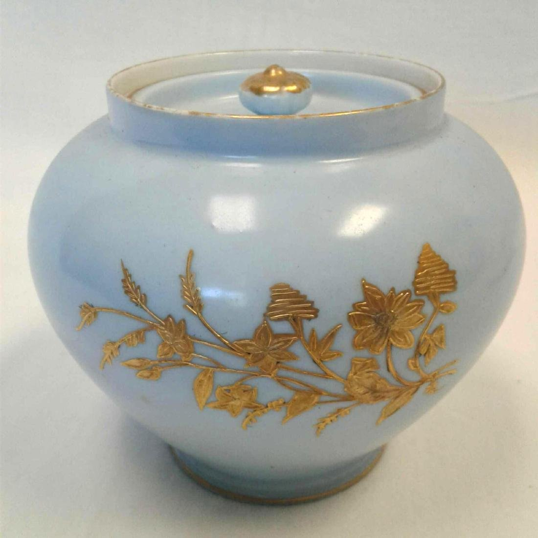 Limoges Tobacco Snuff Jar