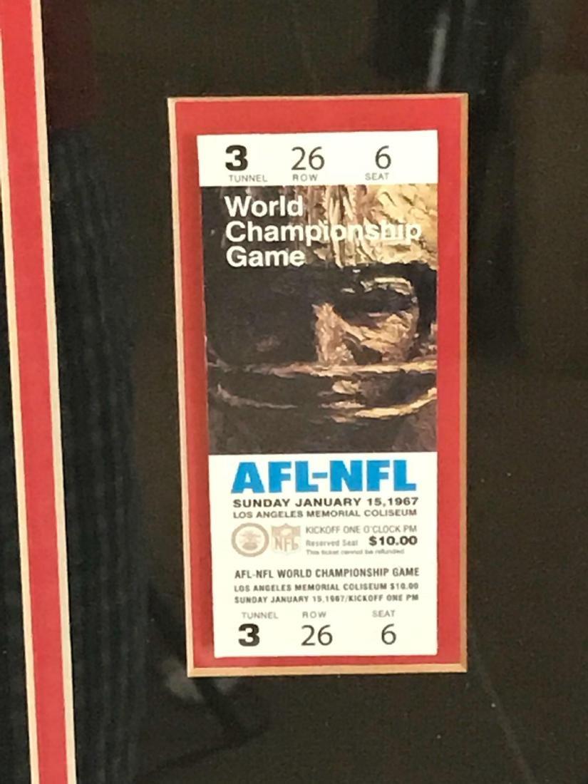 Incredible Collection of Super Bowl Memorabilia, - 4