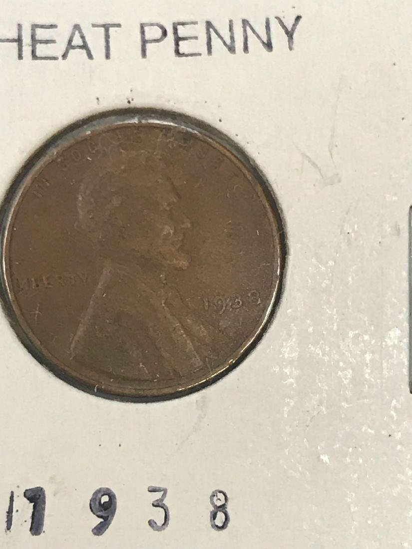 6 Small Cent Lincoln Wheat Penny - 5